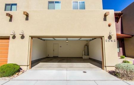 Garage at Galeria Del Rio Townhomes in Tucson, AZ