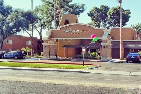 Leasing office at Madera at Metro Apartments in Phoenix, AZ