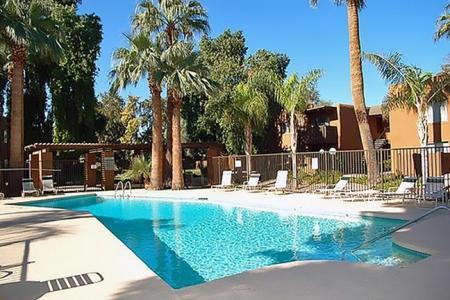 Pool at Madera at Metro Apartments in Phoenix, AZ