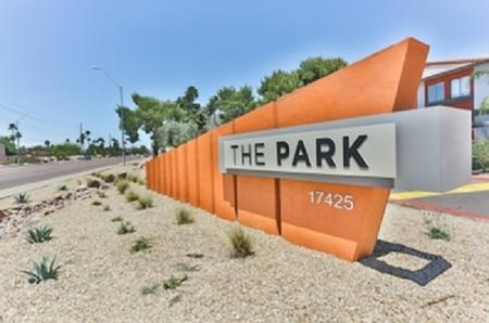 Signage at Park At Deer Valley Apartments in Phoenix, AZ