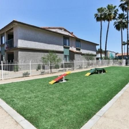 Grass area at Park At Deer Valley Apartments in Phoenix, AZ