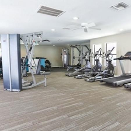 Fitness center at Park At Deer Valley Apartments in Phoenix, AZ