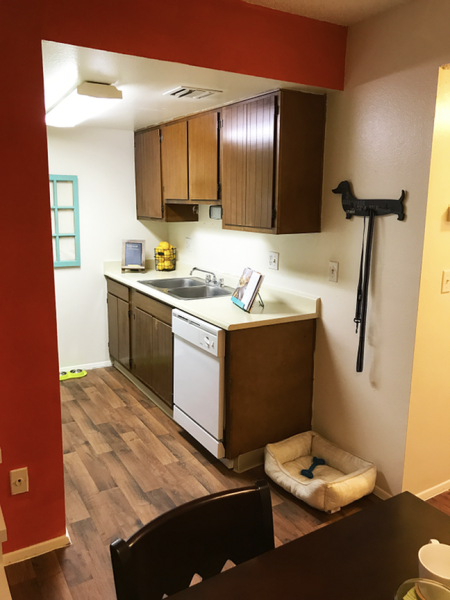 Kitchen at Zona Verde Apartments in Tucson, AZ
