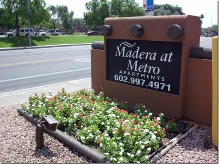 Signage at Madera at Metro Apartments in Phoenix, AZ