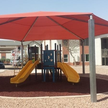 Playground at Mission Vista Apartments in Tucson, AZ