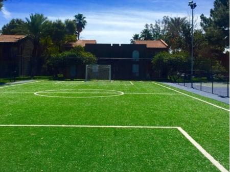Soccer field at Mission Palms Apartments in Tucson, AZ