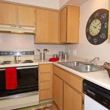 Kitchen at Acacia Pointe Apartments in Glendale, AZ