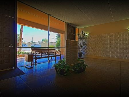 Lobby at The Van Buren Luxury Apartments in Tucson, AZ