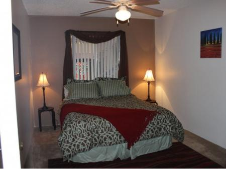 Bedroom at Canyon Vista Apartments in Albuquerque, NM