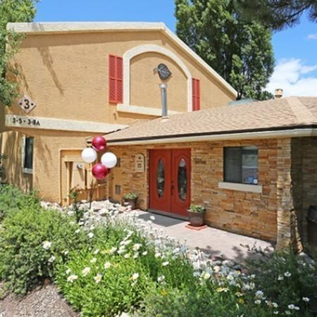 Leasing office at Aspen Leaf Apartments in Flagstaff, AZ