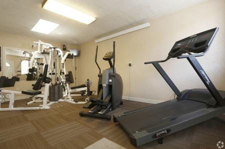 Fitness room at Aspen Leaf Apartments in Flagstaff, AZ