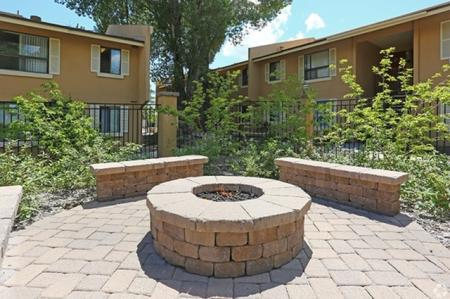 Firepit at Aspen Leaf Apartments in Flagstaff, AZ