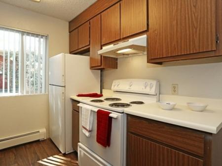 Kitchen at Aspen Leaf Apartments in Flagstaff, AZ
