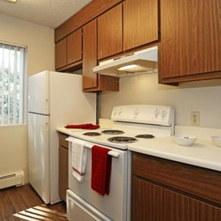 Kitchen at Aspen Leaf Apartments in Flagstaff, AZ