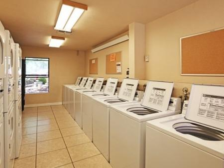 Laundry room at Aspen Leaf Apartments in Flagstaff, AZ