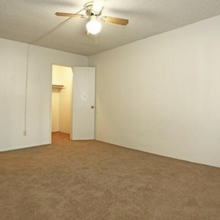Bedroom at Aspen Leaf Apartments in Flagstaff, AZ