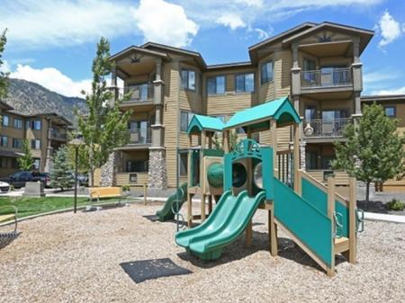 Playground at Elevation Apartments in Flagstaff, AZ