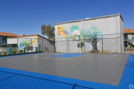 Basketball court at Park At Deer Valley Apartments in Phoenix, AZ
