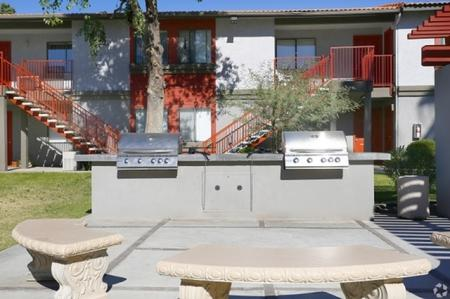 BBQ grills at Park At Deer Valley Apartments in Phoenix, AZ