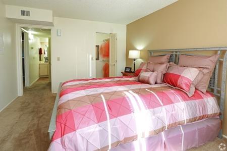 Bedroom at Sunrise Ridge Apartments in Tucson, AZ
