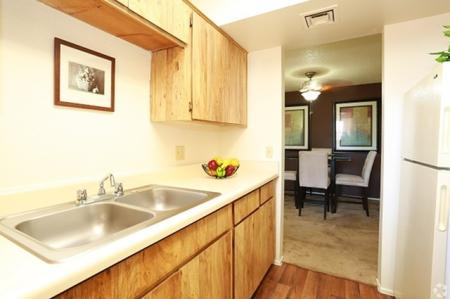 Kitchen at Sunrise Ridge Apartments in Tucson, AZ
