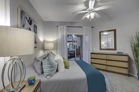 Bedroom at Springs At Continental Ranch Apartments In Tucson, AZ