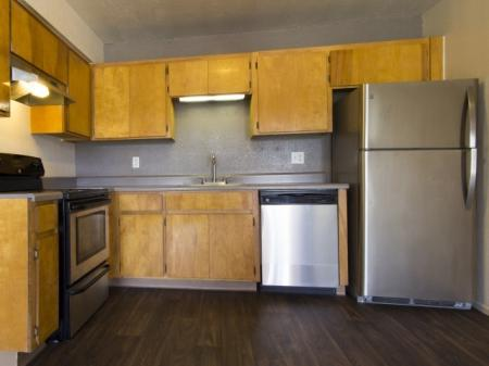 Kitchen at Regency Square in Yuma, AZ