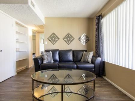 Living room at Regency Square in Yuma, AZ