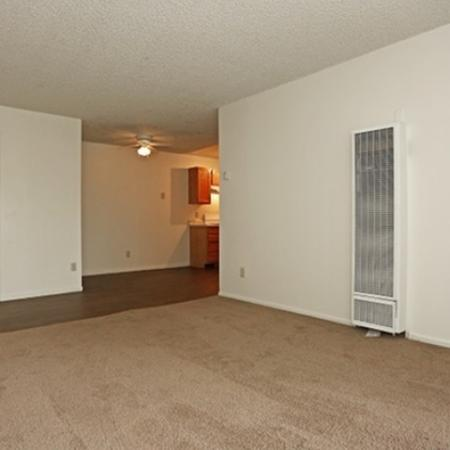 Bedroom at Pinecliff Village Apartments in Flagstaff, AZ