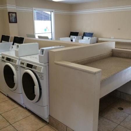 Laundry facility at Saguaro Villas Apartments in Tucson, AZ