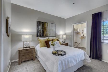 Bedroom at Prescott Lakes Apartments in Prescott, AZ