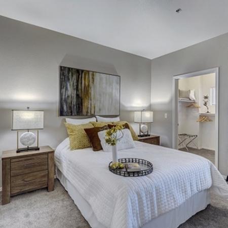 Bedroom at Prescott Lakes Apartments in Prescott, AZ