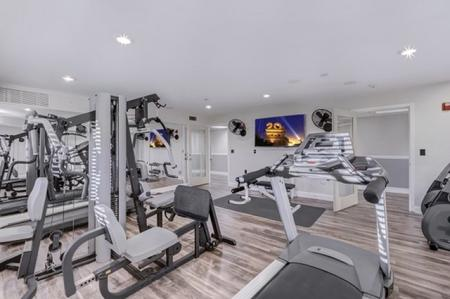 Fitness room at Prescott Lakes Apartments in Prescott, AZ