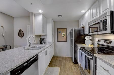 Kitchen at Prescott Lakes Apartments in Prescott, AZ
