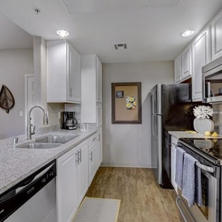 Kitchen at Prescott Lakes Apartments in Prescott, AZ