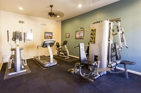 Fitness center at Canyon Heights in Tucson, AZ
