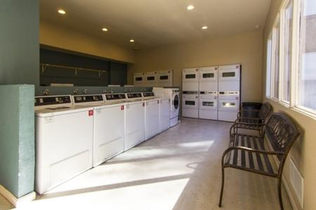 Laundry facility at Canyon Heights in Tucson, AZ