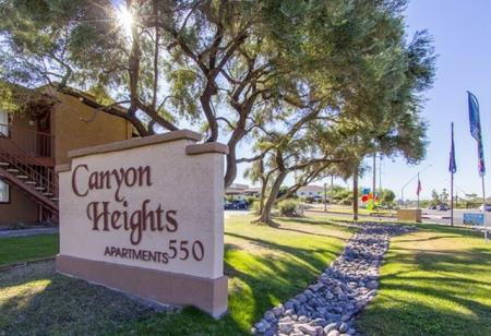 Signage at Canyon Heights in Tucson, AZ