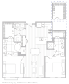 Floor Plan 13 | Apartments In Baltimore | Hanover Cross Street