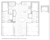 Floor Plan 15 | Baltimore Apartments | Hanover Cross Street