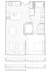 Floor Plan 3 | Dallas Apartments | Hanover Midtown Park