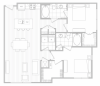 Floor Plan 9 | Luxury Apartments In Dallas Tx | Hanover Midtown Park