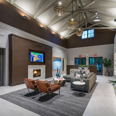 Clubhouse Lobby at Hanover Foxborough
