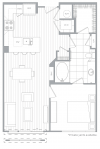 C 1 Bedroom / 1 Bath