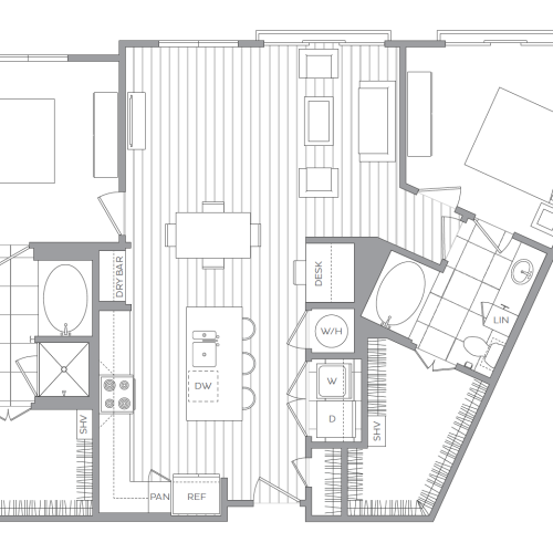 Hanover Exton Square Apartments