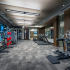 Representational Image of 24-hour Fitness Center with Echelon Spin Bikes and Echelon Reflect Mirror