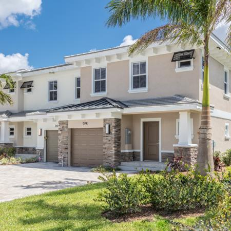 The Reserve at Coral Springs, exterior, apartment entrance, garage view