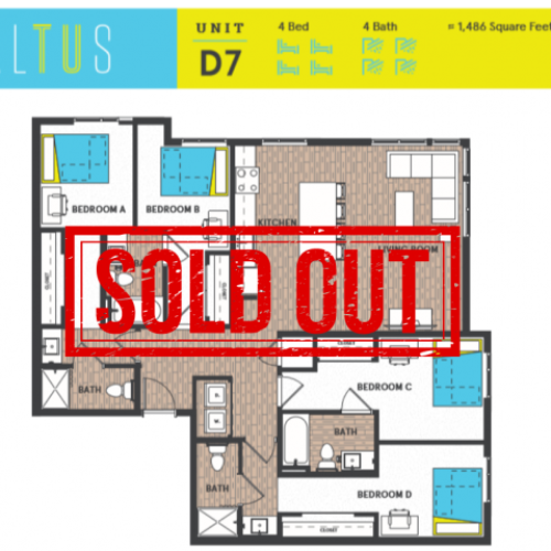 D7 Sold Out