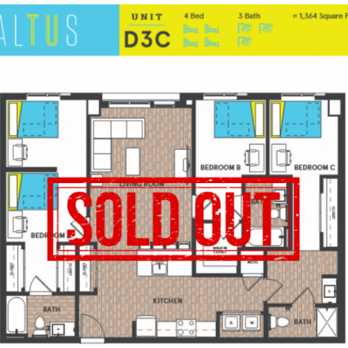 D3C - Sold Out