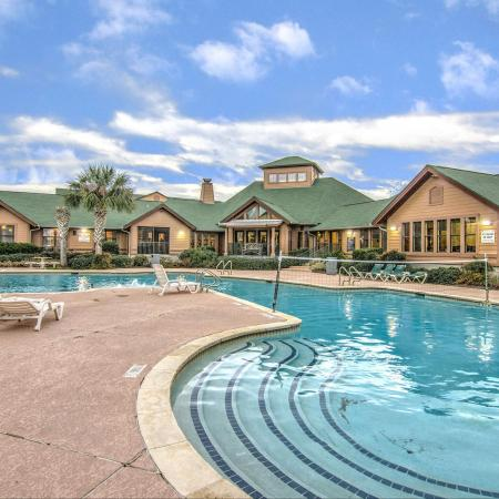 resort style pool near blinn